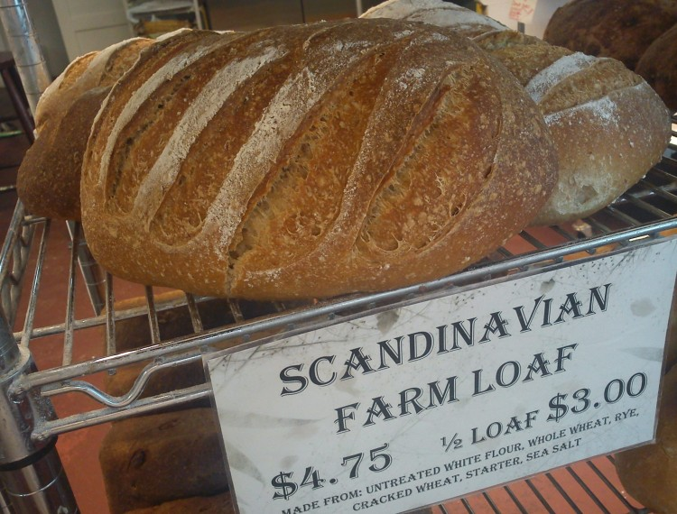 Scandinavian Farm Loaf (Wednesday)